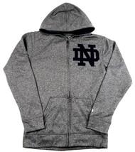 Notre Dame Hoodie Men's Varsity Play NCAA Full Zip Hooded Sweatshirt