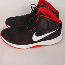 898452 Nike Air Sz13 Day 006 Red Precision Hi Basketball Father Shoe Men's Black 88vrw6x