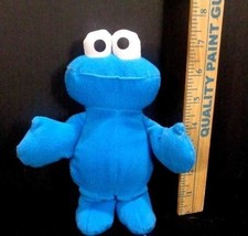 Sesame Street Soft Cookie Monster Muppet Plush Stuffed Toy Hasbro Jim He... - $6.92