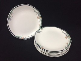 8 Royal Doulton 'Juno' Dinner Plates Fine China England - $49.99