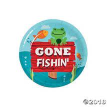 Fun Express Little Fisherman Dessert Plates (8) - $2.36