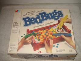 VINTAGE 1986 BED BUGS MOTORIZED ELECTRONIC GAME COMPLETE WORKING - $26.99