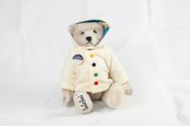 Steiff Teddy bear 1998 Nagano Olympics Memorial 2500 Limited Rare Used - $819.71