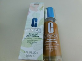 Clinique Beyond Perfecting Foundation + Concealer 23 Ginger D-N New - $18.76