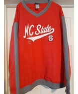 Collegiate NC State Wolfpack Team Pullover Jacket Coat 2 Pockets Adult s... - $23.51