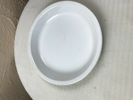 Vintage Corning Ware Plain White Pie Plate P-309 - $9.46