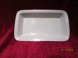 """Dansk Bisserup white rectangular baker 13"""" x 8"""" japan - $21.73"""
