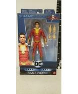 """DC Multiverse Billy Batson Marve Shazam 6"""" Figure 2018 Mattel GDX07 - Br... - $23.21"""