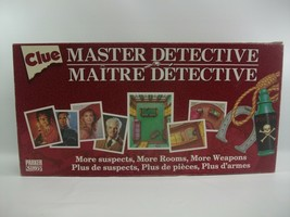 Clue Master Detective Board Game Complete Parker Brothers A30 - $31.25