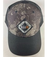 Shot Show 2020 5.11 Tactical Black Gray Snap Back Hat Cap - $26.72