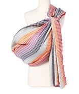 Hip Baby Wrap Ring Sling Baby Carrier for Infants and Toddlers Rainbow H... - $39.71