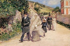 The Wedding March by Theodore Robinson - Art Print - $19.99+