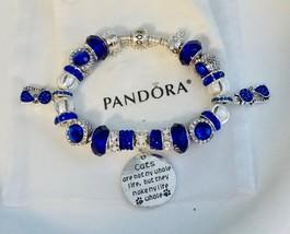 Cat's make my life whole    - Authentic Jared Pandora bracelet - $129.00