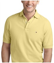 Tommy Hilfiger Men's Classic-Fit Ivy Polo, Provence Yellow, Size XXL, MS... - £20.93 GBP