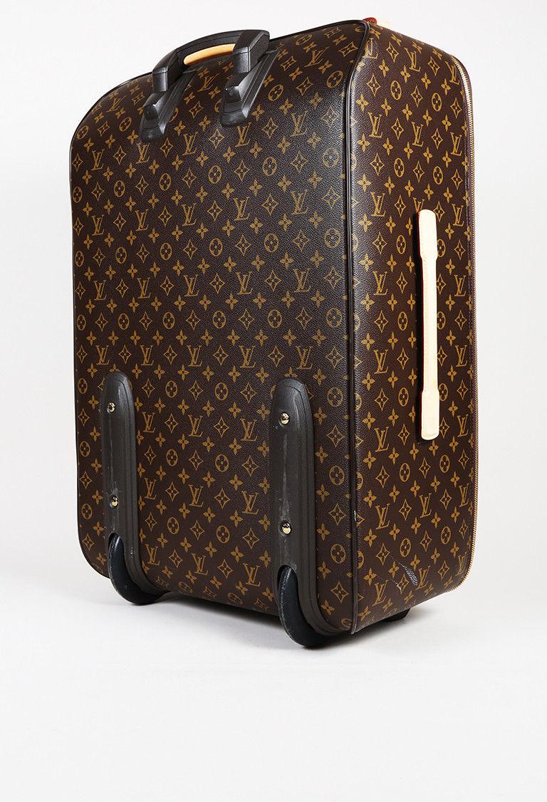 """Louis Vuitton Monogram Coated Canvas """"Pegase 70"""" Suitcase"""
