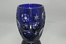 Faberge Galaxy Cobalt Blue Shot Glass - $125.00