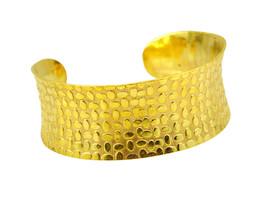 adorable Plain Gold Plated multi Bangle Fashion gemstones US - $13.16