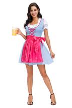 Women German Dirndl Dress Costume - $25.00