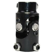 "Forged Steel Yokes Steering Shaft Universal U-JOINT 1"" DD TO 3/4"" DD Black image 2"