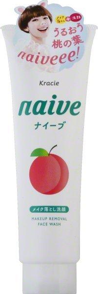 Naive facewash peach200  1