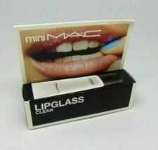 M.A.C Mini Lipglass Lip Gloss Clear 0.24oz/7ml NIB - $11.50