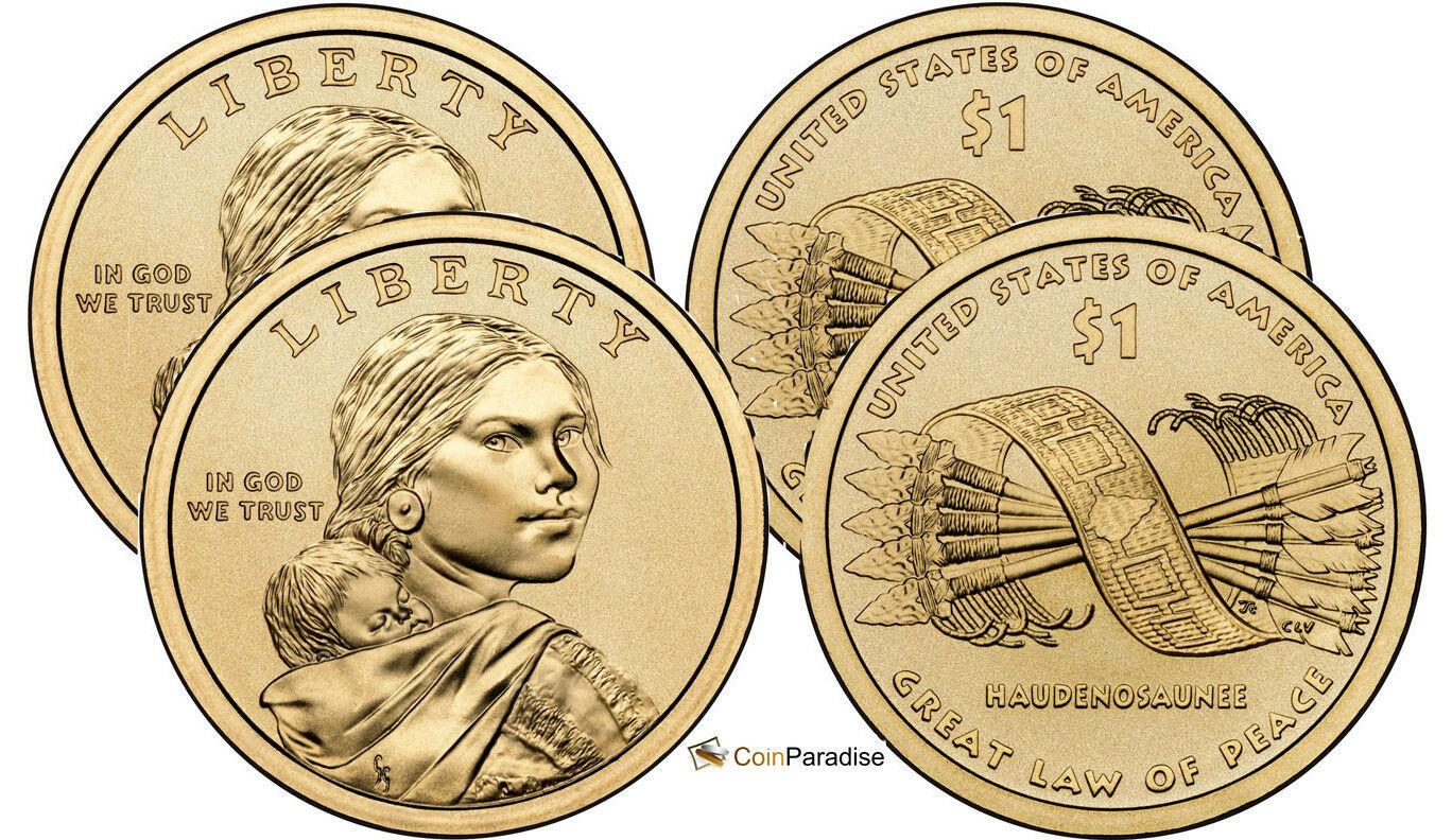 2005 Sacagawea P/&D Dollars BU Uncirculated
