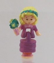 1993 Vintage Lot Polly Pocket Doll Wedding Chapel - Polly Bluebird Toys - $7.50