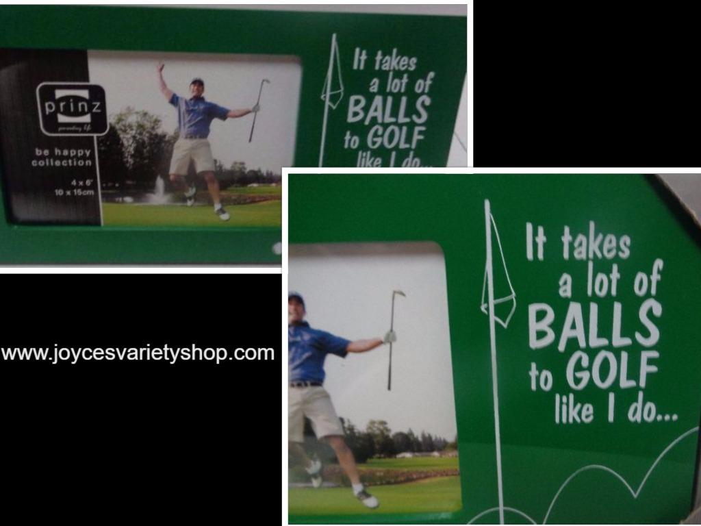 Golf balls photo frame collage 2017 05 19