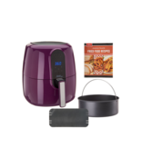 Power Air Fryer Elite 5.5-qt 6-in-1 Digital Air Fryer w/ Cake Pan - Many... - $152.95
