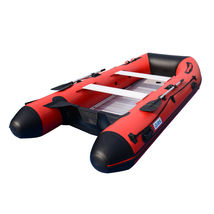 BRIS 12ft Inflatable Boat Dinghy Raft Pontoon Rescue & Dive Raft Fishing Boa image 3