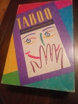 Hasbro Taboo 1989 Edition the Party Game of Unspeakable Fun By Parker Br... - $9.27