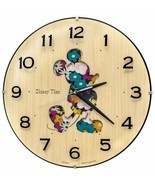 Disney Time Mickey & Friends Natural Woodland Wall Clock SEIKO New - $149.88