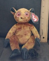 TY Beanie Baby - GIZMO the Lemur (8 inch)> Plush collectible toy - $2.99
