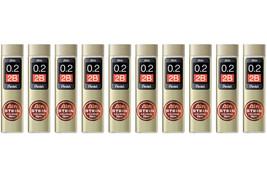 Pentel Ain Stein C272W-2B 0.2mm Refill Leads (Pack of 10) - N/A - $25.99