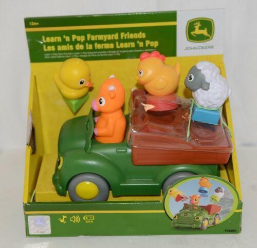 John Deere LP53371 Learn N Pop Farmyard Friends 12 Months