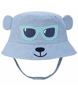 Baby Animal Sun Hat - Toddler Kids Boys Breathable Cartoon Summer Sun Pr... - £10.59 GBP