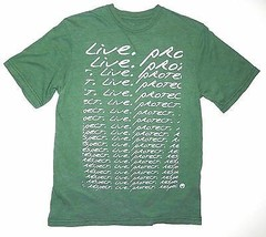 Ocean Minded T-Shirt Respect Live Protect Recycled Sustainable Material ... - £14.31 GBP