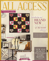 Anita Goodesign ALL ACCESS JANUARY 2019 12-Collections CD ONLY $450 List! - $69.29