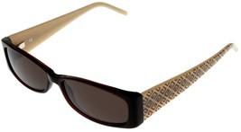 Givenchy Sunglasses Women Burgundy Brown Rectangular SGV566E 958V  - $177.21