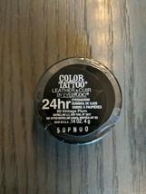 MAYBELLINE COLOR TATTOO Leather Eye Studio 24HR EYE SHADOW #90 Vintage Plum - $7.70