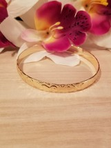 8mm Gold Hawaiian Bangle Bracelet - $30.00
