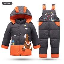 Warm Winter Baby Boy's Duck Down Jackets coat Set Children clothing sets... - $45.90