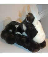 "AURORA FLOPSIES BROWN WHITE HORSE PONY 12"" PLUSH STUFFED ANIMAL DOLL TOY - $9.99"