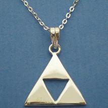 Handmade Sterling Silver Zelda Medium Necklace Pendant - $42.00