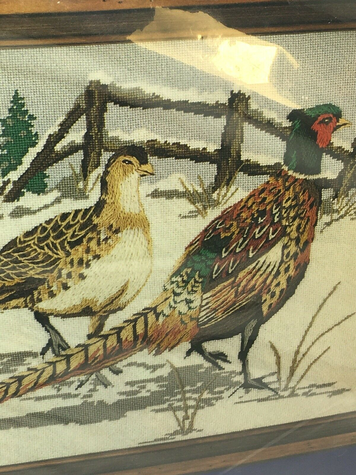 "Primary image for Needlepoint Kit PHEASANTS Something Special Sealed, 16"" x 20"" arts and crafts"