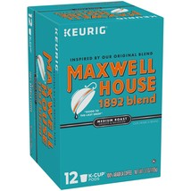 Maxwell House 1892 Blend Coffee, K-Cup Pods, 12.4 Ounce - $17.23