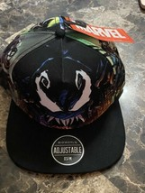Marvels VENOM All Over Subliminal SnapBack Hat Brand New. One Size Fits ... - $34.64