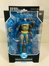 "McFarlane Toys DC Multiverse Batman 7"" Blue Variant Chase Action Figure  - $44.97"
