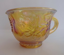 Carnival Glass Indiana Glass Colony Harvest Grape Marigold Punch Cup - $9.49