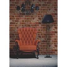 Brewster FD31045 Brick Wallpaper - Orange  - $18.00
